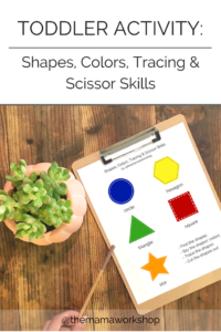 Learning Shapes and Colors