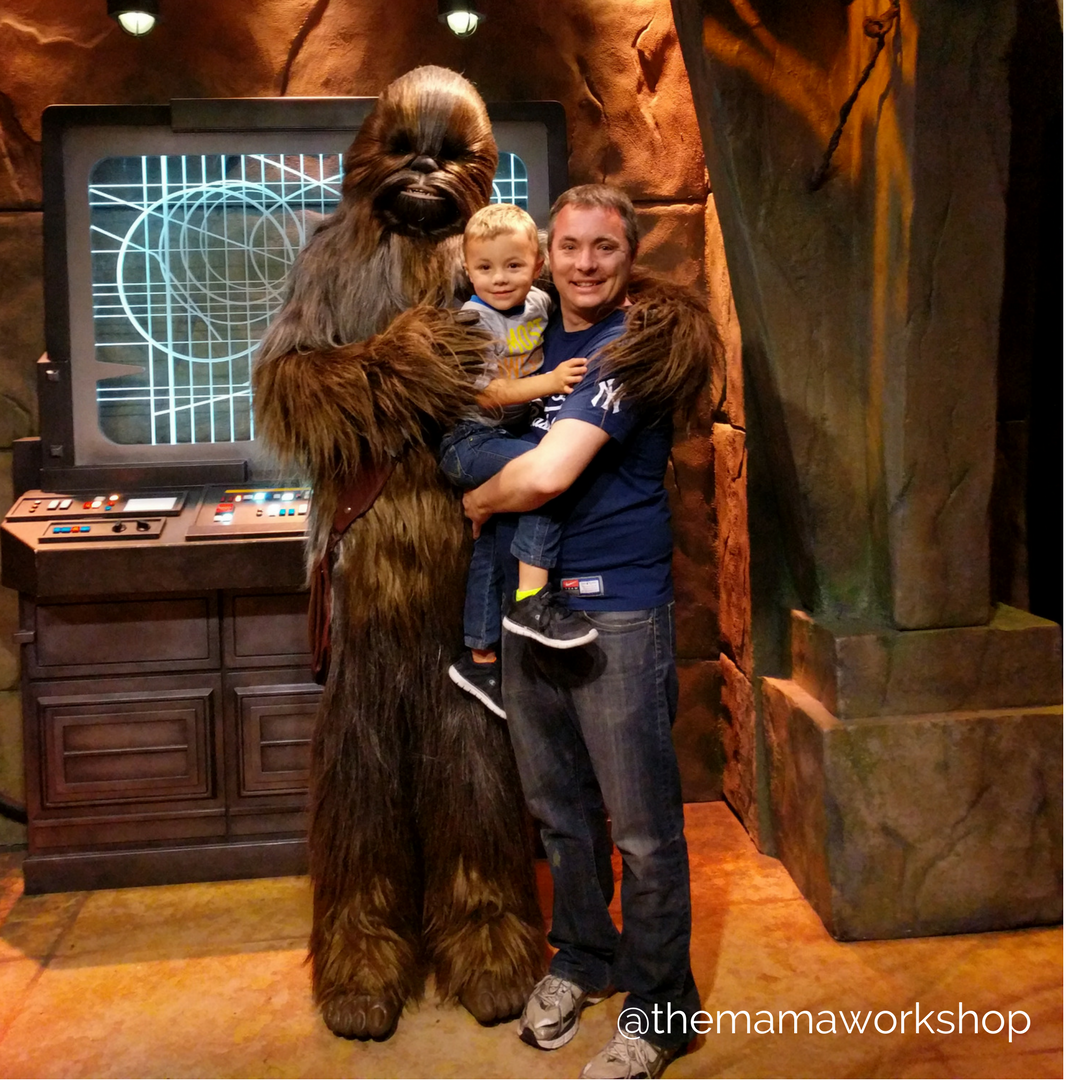 meet Chewbacca Disneyland