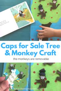Cardboard Tree with Removable Monkeys