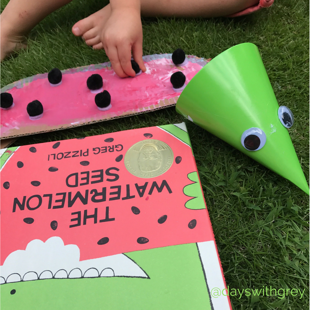 watermelon craft by Days with Grey
