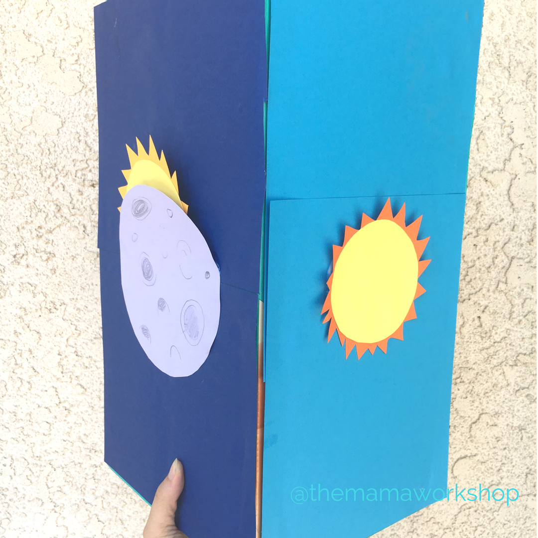 how to make a dyi solar eclipse viewer