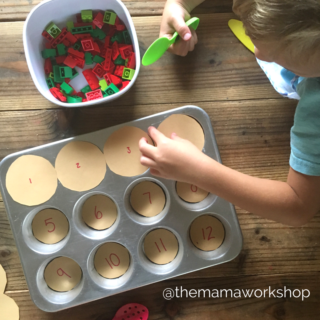 Crust - Apple Counting Activity
