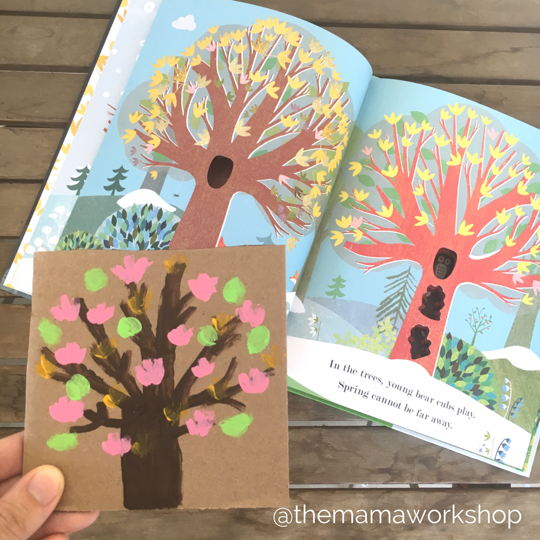 Spring Tree Puzzle