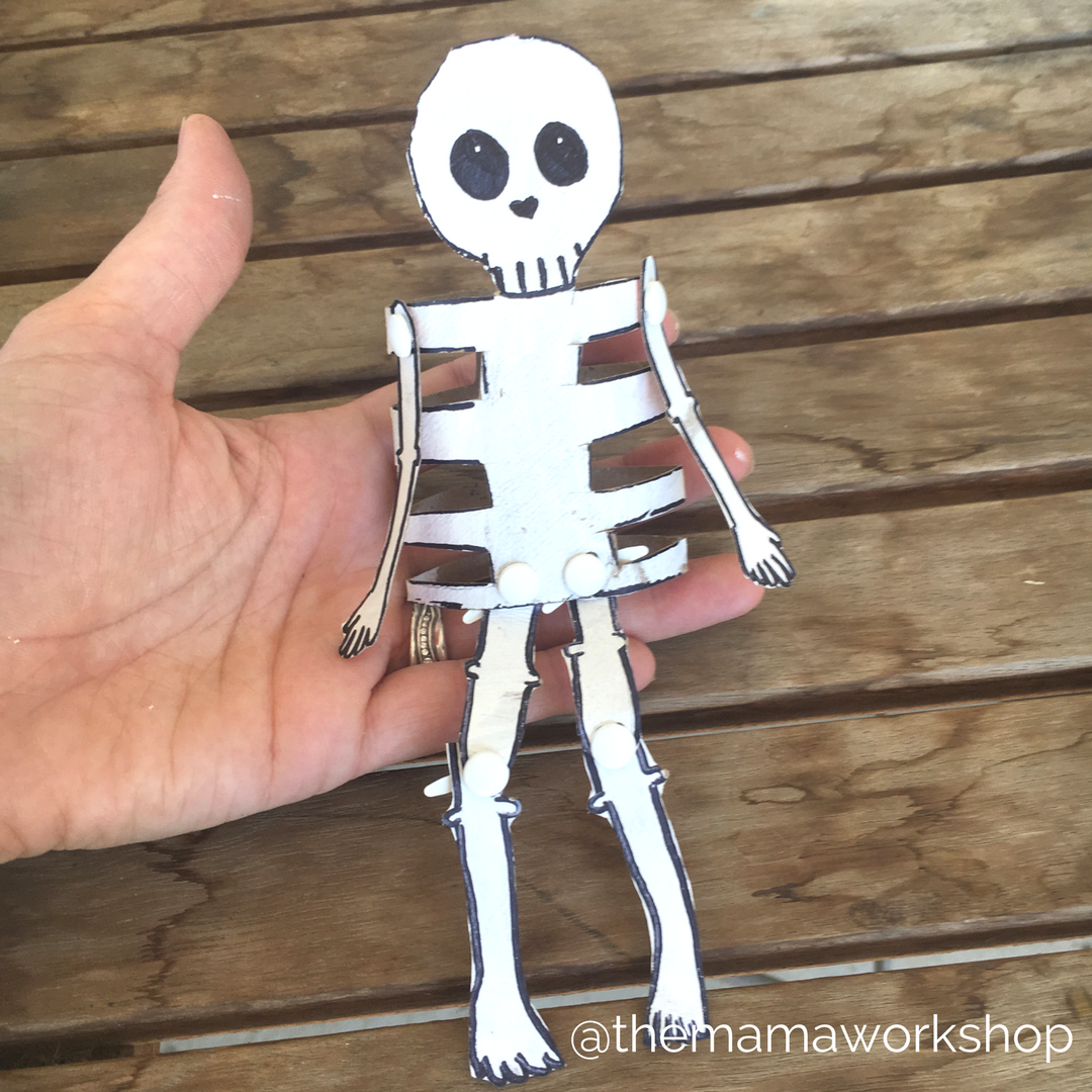 Skeleton Craft for Toddlers