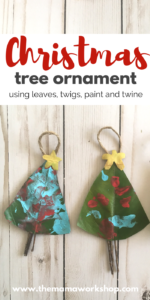 DIY Christmas Tree Ornament Pinterest