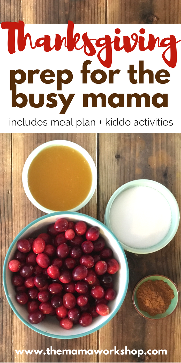 Thanksgiving prep is my best friend for turkey day. Read about my game plan, meal plan and kiddo activities. You can do it too!