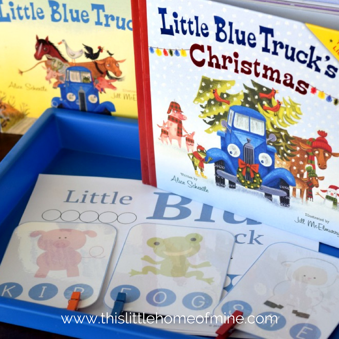 Little Blue Truck Christmas - This Little Home of Mine