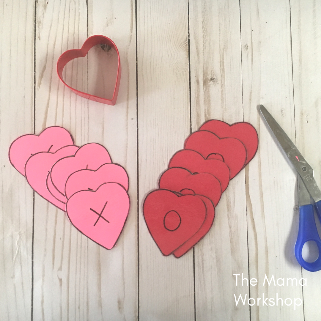 Valentine's Day Games for Toddlers - Cut Hearts