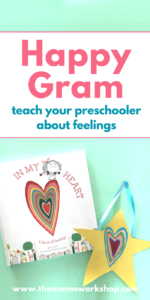 We are loving this In My Heart Craft! It's so fun to take someone a happy gram. Make one too!